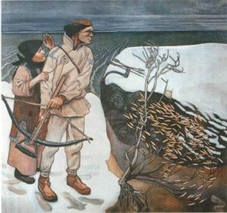 Akseli Gallen-Kallela - Joukahainen's Revenge, 1897, Turku Art Museum