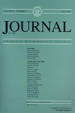 Journal of the American Mathematical Society
