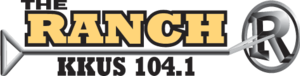 KKUS - Image: KKUS The Ranch 104.1 logo