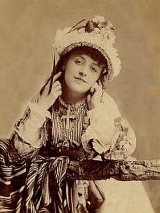 Kate Santley - Santley, c. 1875