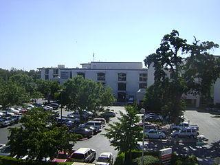 Hospital in California, United States