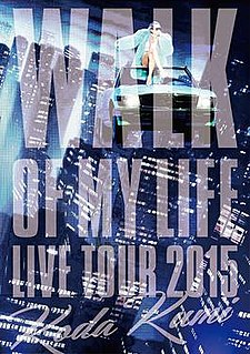 <i>Live Tour 2015: Walk of My Life</i> 2015 video by Koda Kumi
