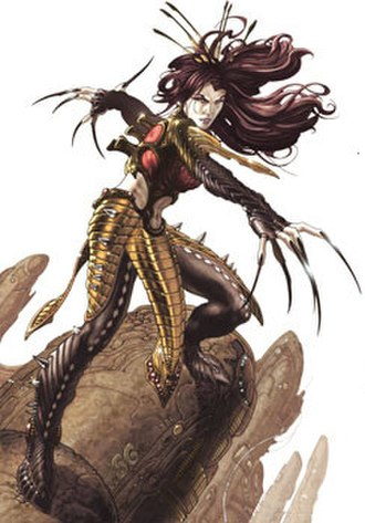 Lady Deathstrike - Image: Lady Artists Strike