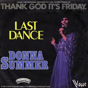 Last Dance (Donna Summer song) - Image: Last Dance Donna Summer