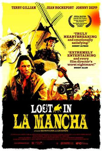 Lost in La Mancha - Theatrical release poster