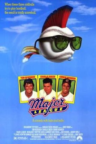 Major League (film) - Theatrical release poster