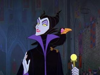 Maleficent - Maleficent as she appears in the original film