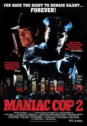 Maniac Cop 2 - Film poster