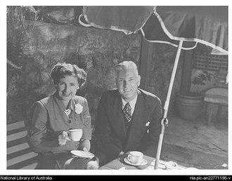 Thelma Afford - Max and Thelma circa 1950