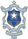 Monte Sant' Angelo Mercy College crest. Source: www.monte.nsw.edu.au (Monte website)