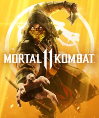 Mortal Kombat 11 - Cover art featuring Scorpion.