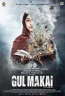 <i>Gul Makai</i> Biographical film based on Malala Yousafzai