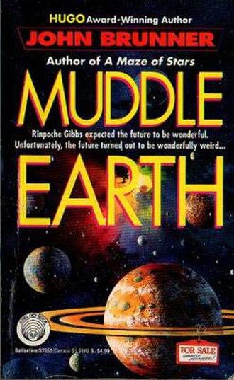 Muddle Earth (Brunner novel) - First edition cover art by John Berkey