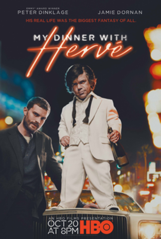 My Dinner with Hervé - Television release poster