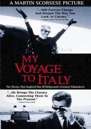 My Voyage to Italy - DVD cover