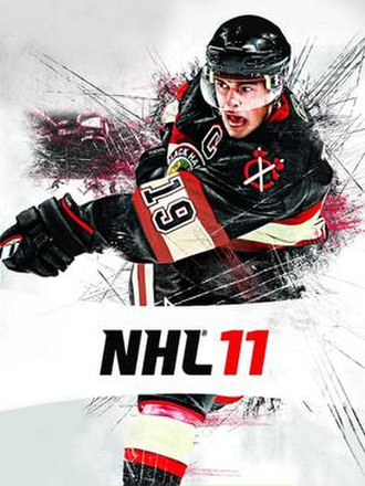 NHL 11 - The North American cover of NHL 11, featuring Jonathan Toews.