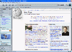 Netscape (web browser) - Netscape Navigator 6.1