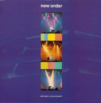 BBC Radio 1 Live in Concert (New Order album) - Image: Neworderliveinconcer t