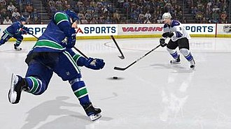 NHL 11 - NHL 11 introduces broken sticks to the ''NHL'' series.