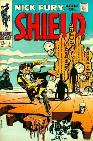 Nick Fury: Agent of S.H.I.E.L.D. #7 (Dec. 1968...