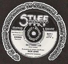 Image result for stiff records if it ain't stiff