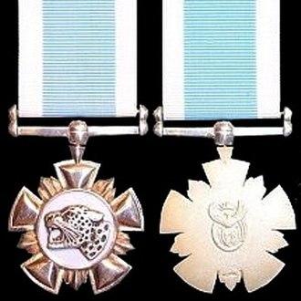 Nkwe ya Selefera - Image: Nkwe ya Selefera medal