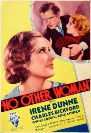 No Other Woman (1933 film) - Theatrical release poster