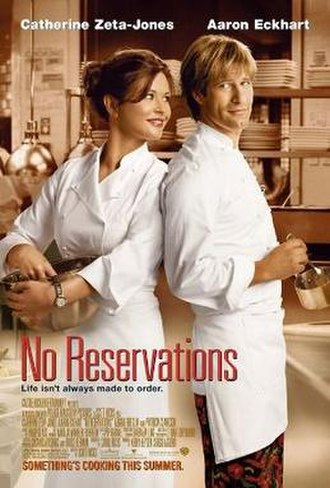 No Reservations (film) - Theatrical release poster