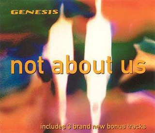 Not About Us 1998 single by Genesis