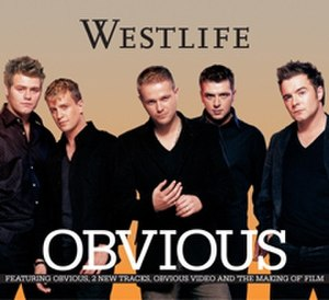 Obvious (Westlife song) - Image: Obvious CD2