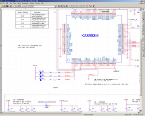 OrCAD Schematic Capture Program