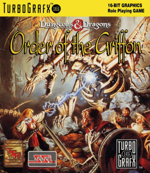 Dungeons & Dragons: Order of the Griffon - Cover art