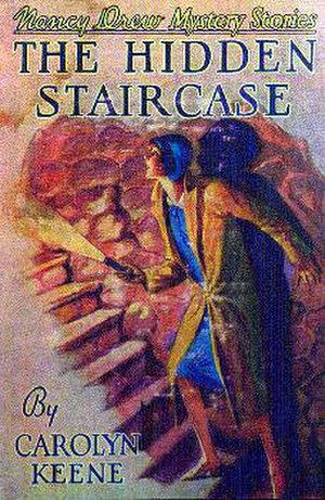 "The Hidden Staircase - The original dust jacket for ""The Hidden Staircase"""