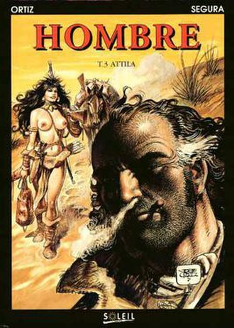 Hombre (comics) - French cover of Hombre: Attila.