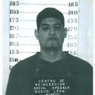 Apodaca prison riot - Mug shot of Óscar Manuel Bernal Soriano, La Araña (The Spider).