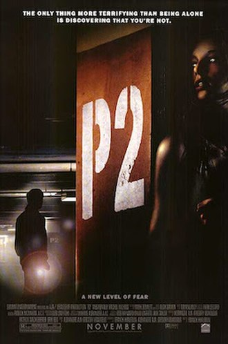 P2 (film) - Theatrical release poster