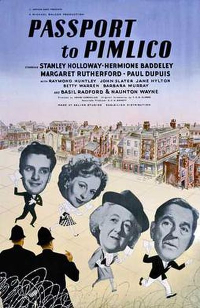 Picture of a movie: Passport To Pimlico