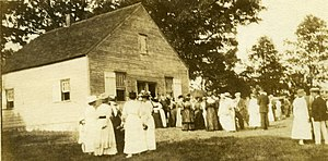 Fanny Crosby - Peach Pond Meeting House, North Salem, New York
