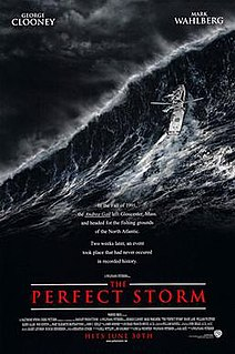 <i>The Perfect Storm</i> (film) 2000 dramatic disaster film by Wolfgang Petersen