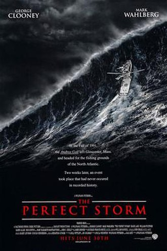 The Perfect Storm (film) - Theatrical release poster