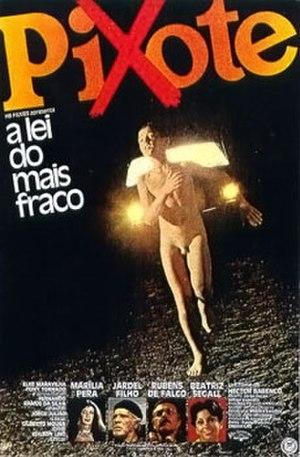 Pixote - Theatrical release poster