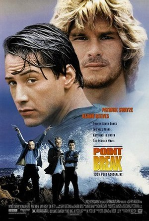 Point Break - Theatrical release poster