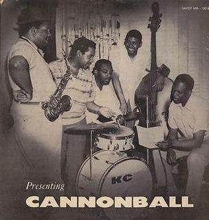 <i>Presenting Cannonball Adderley</i> 1955 studio album by Cannonball Adderley