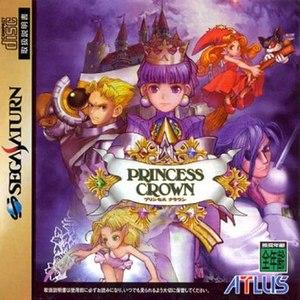 Princess Crown - Sega Saturn version cover art
