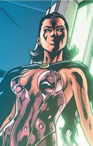 Psi (comics) - Image: Psi (DC Comics character The New 52 version)