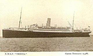 SS <i>Orbita</i> ship