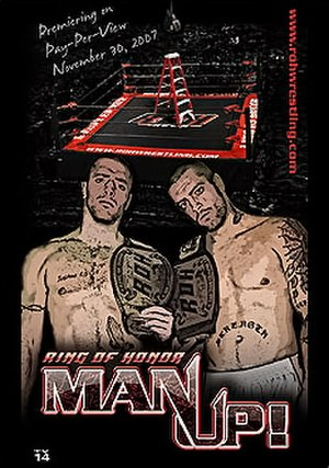 ROH Man Up - Image: ROH Man Up poster