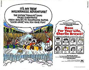 Race for Your Life, Charlie Brown - Promotional poster