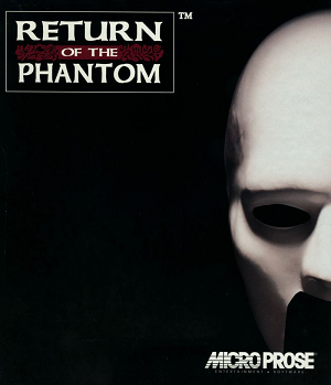 Return of the Phantom - Image: Return of the Phantom cover