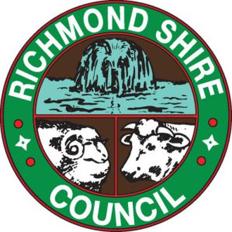 Shire of Richmond - Image: Richmond Shire Council Queensland logo